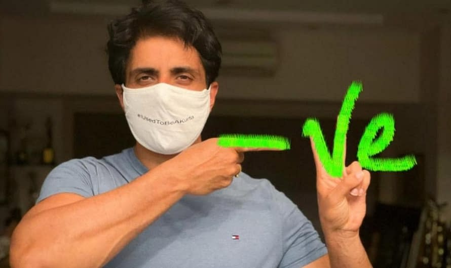 Sonu Sood as brand ambassador for vaccination drive in Punjab