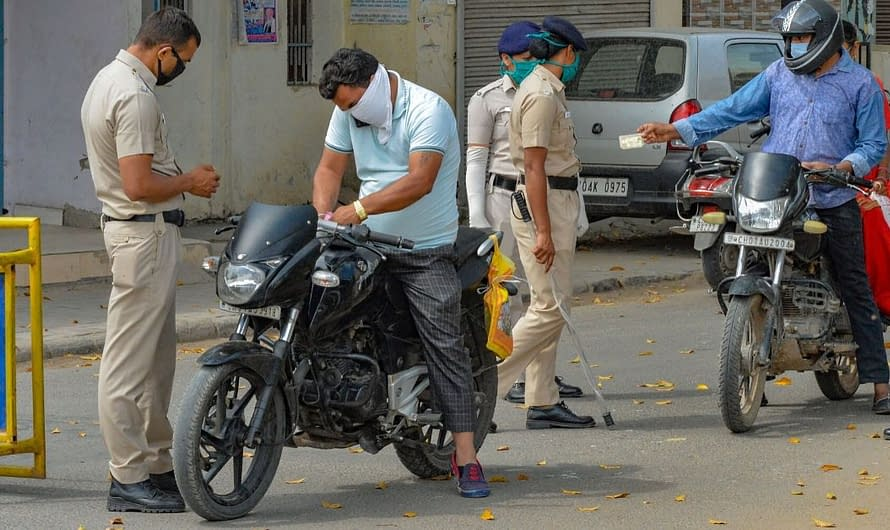 The crime ratio in Chandigarh falls to 70% due to COVID-19 outbreak